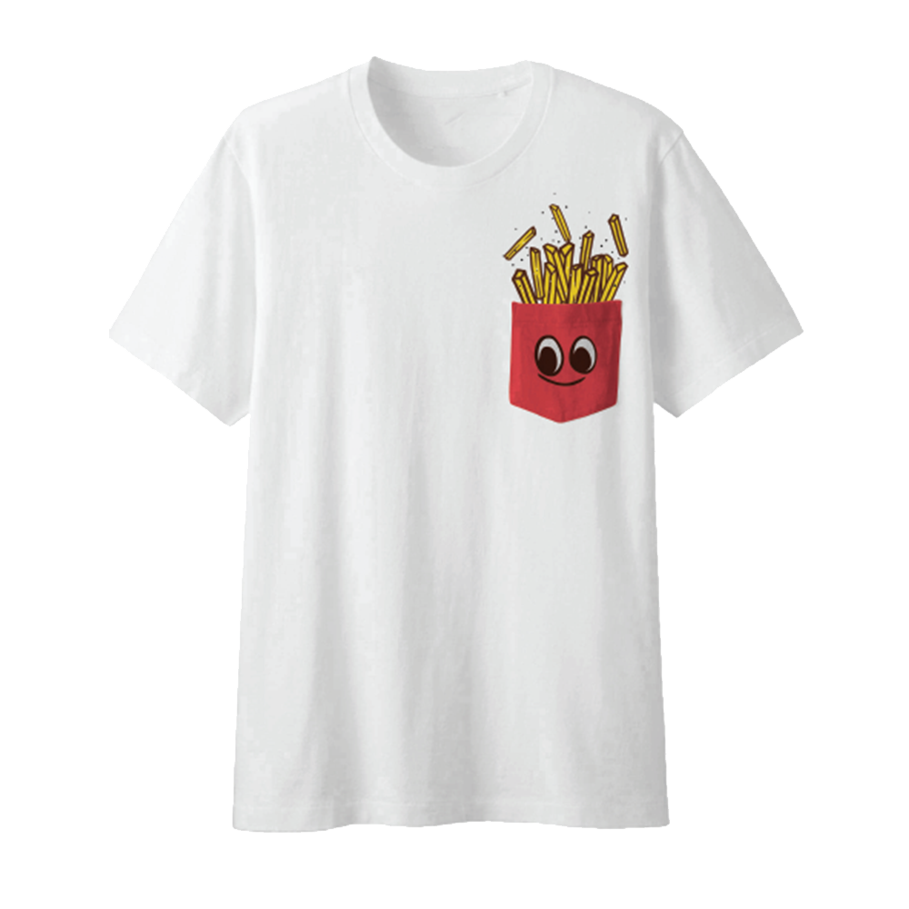 Top Food News French Fries Tee