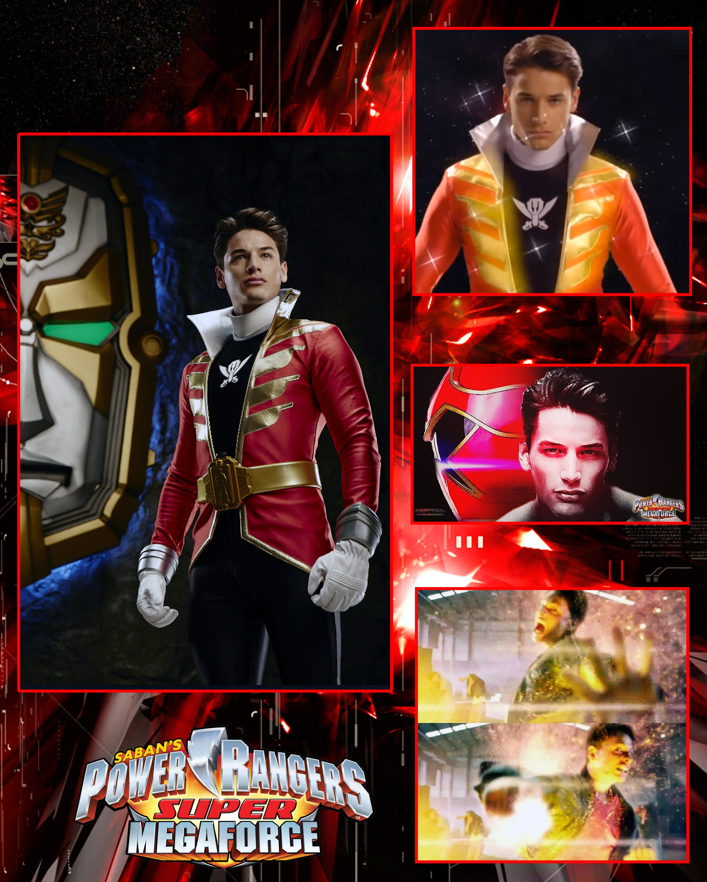 Andrew Gray Super Megaforce 8x10 Print