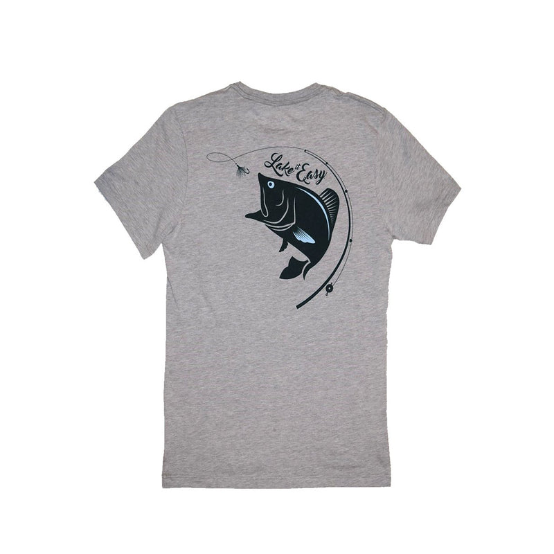 Bass Fish Short Sleeve Tee