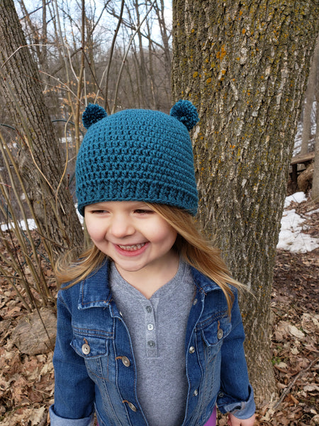 39 colors mini pom pom hat