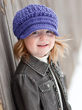 2T to 4T Purple Buckle Newsboy Cap by Two Seaside Babes