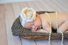 Barn Wood Brown | newborn photo prop layering baby blanket, basket stuffer, bucket filler
