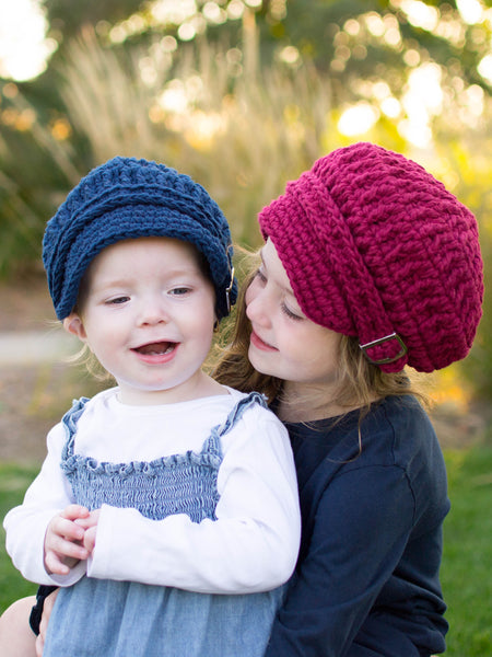 32 colors buckle newsboy cap by Two Seaside Babes