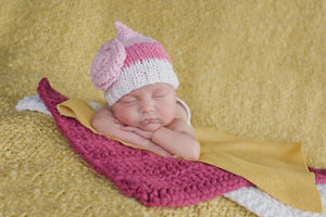 Raspberry Pink & White Sparkle | newborn photo prop layering baby blanket, basket stuffer, bucket filler