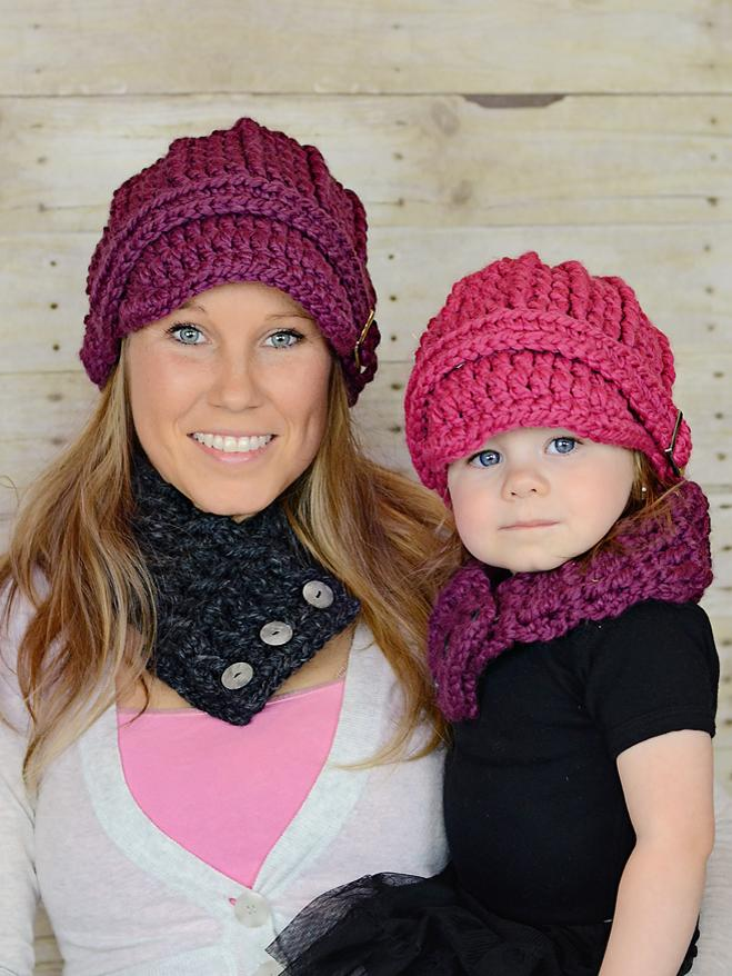 32 colors buckle beanie winter hat by Two Seaside Babes