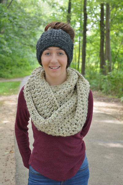 32 colors infinity cowl winter scarf