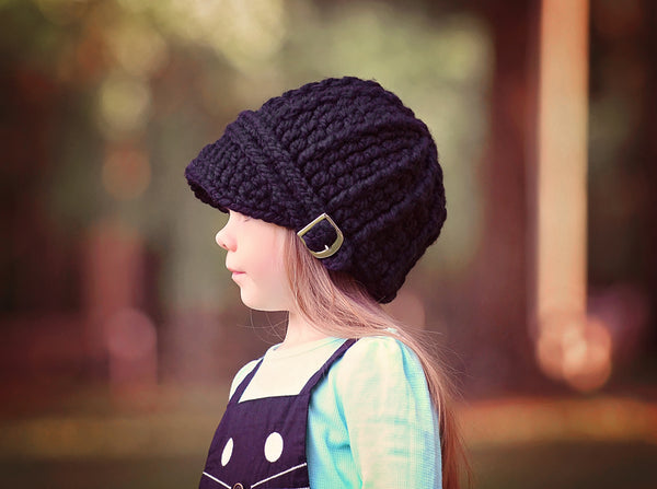 32 colors buckle beanie winter hat