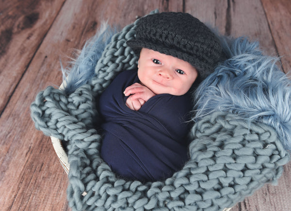 16 colors Irish wool newsboy hat