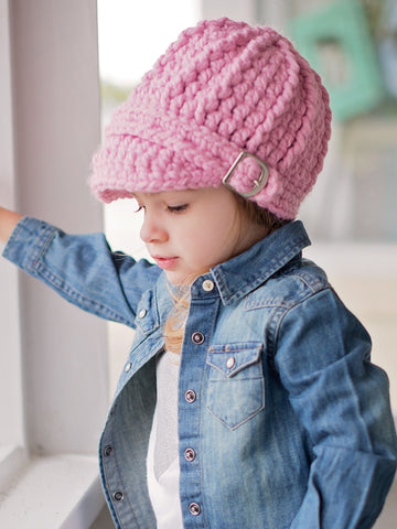 4T to Preteen Kids Buckle Beanie by Two Seaside Babes