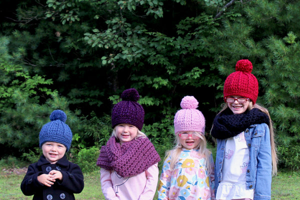 32 colors pom beanie winter hat