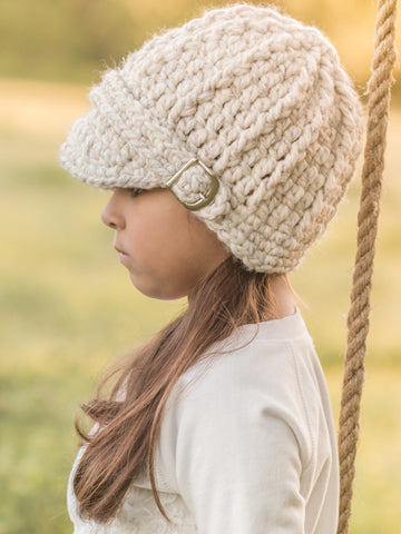 4T to Preteen Wheat Buckle Beanie by Two Seaside Babes