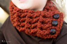 1T to 4T Toddler Pumpkin Spice Button Scarf