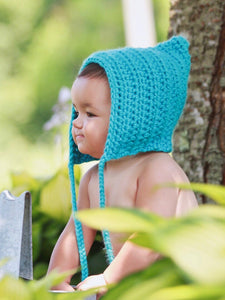 Turquoise blue pixie elf hat by Two Seaside Babes
