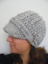 Adult Gray Marble Buckle Beanie by Two Seaside Babes