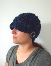 Adult Denim Twist Buckle Beanie by Two Seaside Babes