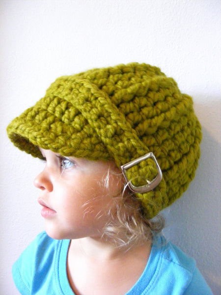 1T to 2T Toddler Lemongrass Buckle Beanie
