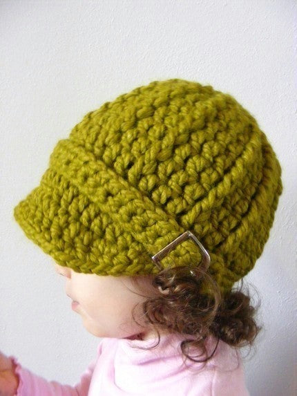 2T to 4T Toddler Lemongrass Buckle Beanie