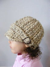 2T to 4T Toddler Oatmeal Buckle Beanie