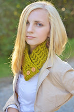 Adult Lemongrass Button Scarf