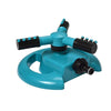Garden Sprinklers Water Durable Rotary Three Arm Water Sprinkler 360 Degree Automatic Rotating Water Sprinkler System