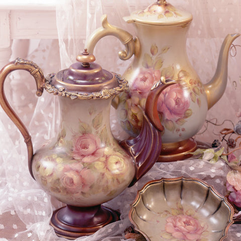 NEW!  Jo Sonja's Teapot Collection