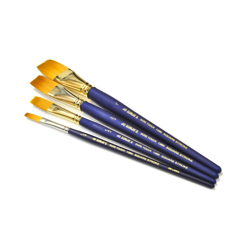 1380 Square Stroke Brush