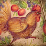 Country Kitchen Roosters & Fruit - JP3187