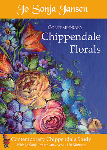 Contemporary Chippendale Florals DVD Packet - JD101