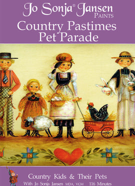 Country Pastimes Pet Parade DVD Packet - JD105