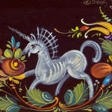 Os Rosemaling The Lion and the Unicorn - JP3201