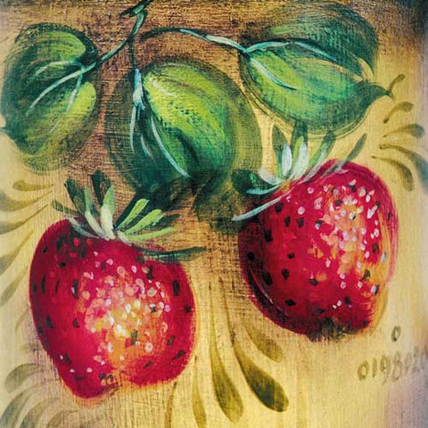 Strawberries on Gold - JP1120
