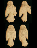 Angel Ornaments - JN007 - wood only