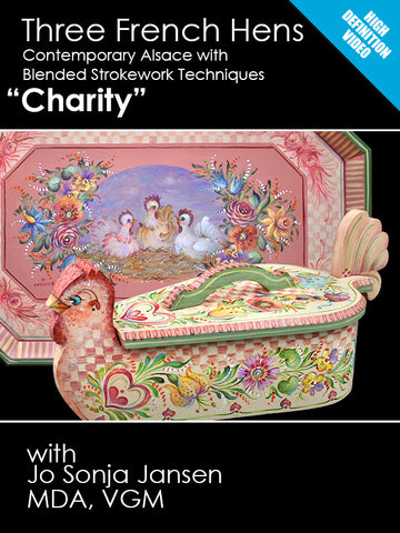 Three French Hens - Charity - Online Class