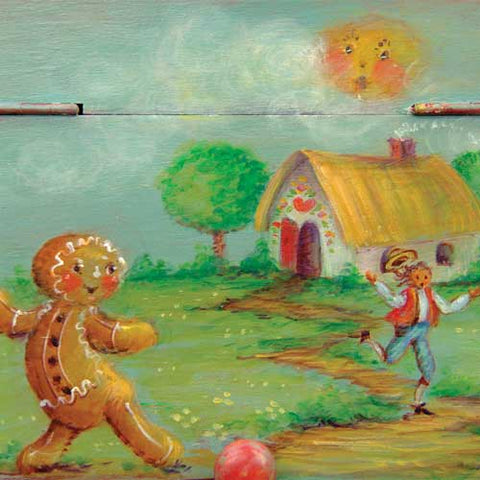 The Gingerbread Man - JP3044