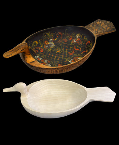 Telemark Ale Goose - Complete Package includes carved bowl and packet - FREE shipping