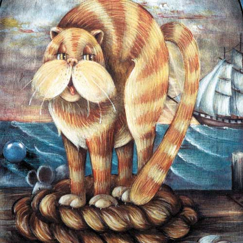 Ship's Cat McBarnacle - JP1172