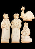 Nativity Ornaments - Collection Two - Three Wise Men & Camel - JN002
