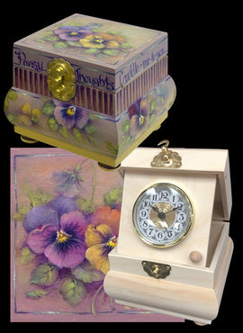 Pansy Thoughts - JP3213 - Bundle - FREE US Shipping