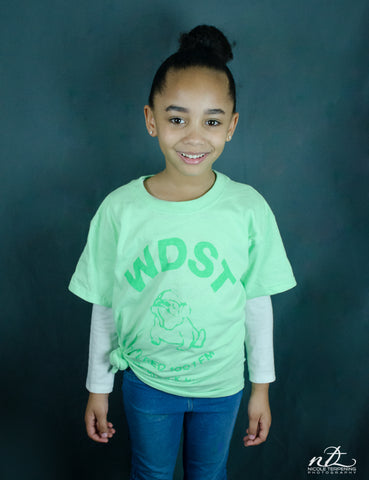 Bulldog Kids T-Shirt (Green)