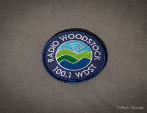 Radio Woodstock Navy Patch