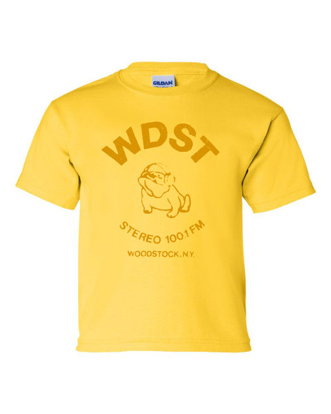Bulldog Kids T-Shirt (Yellow)