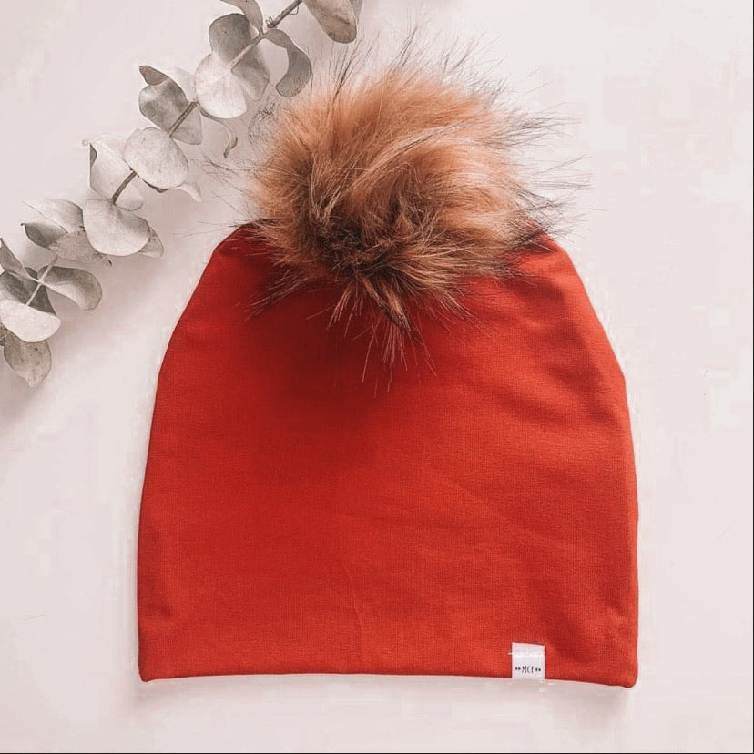 Rust Maplecrest Toque