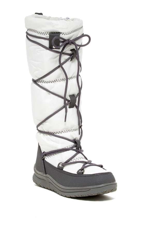 Arctic Plunge Women's Kezry Lace Up Round Toe Side Zipper Winter Boots