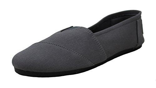 Women's Classics Comfort Casual Loafers Shoe Canvas Slip-On Flats