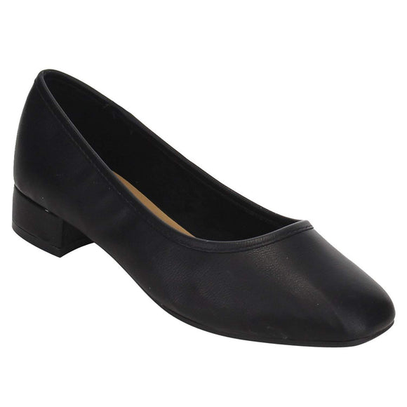 Women's Scheme Classic Slip On Chunky Heel Dress Pumps Shoes