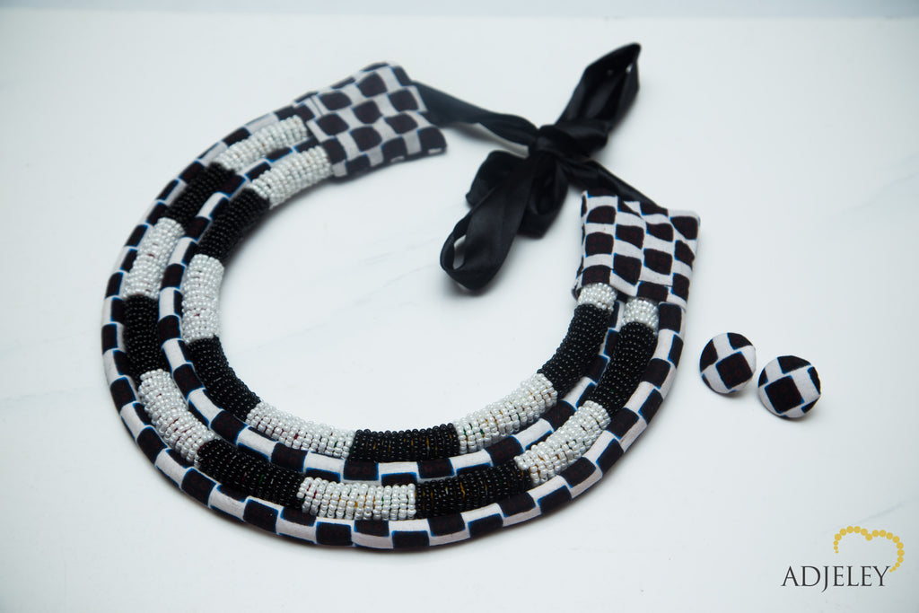 Elom black white u2013 adjeley jewelry