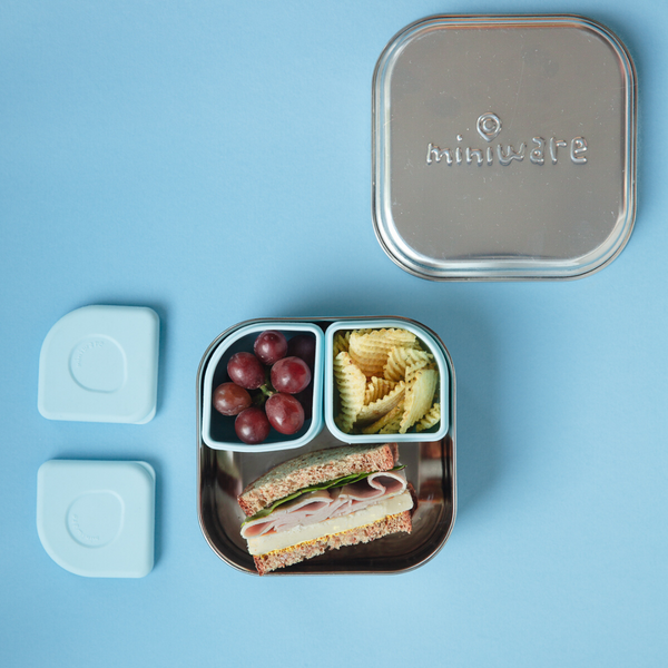 travel snacks for toddlers blog image of GrowBento box by miniware