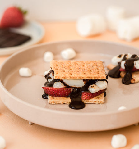 Miniware summer fruit recipes for kids smores