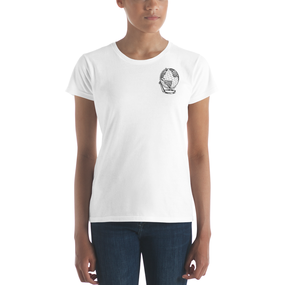 Discovering Heart - Continent Women Shirt - Discovering Heart