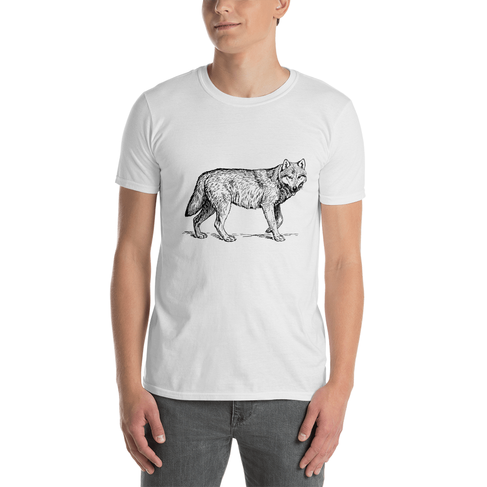 Discovering Heart - Wolf Unisex Shirt - Discovering Heart